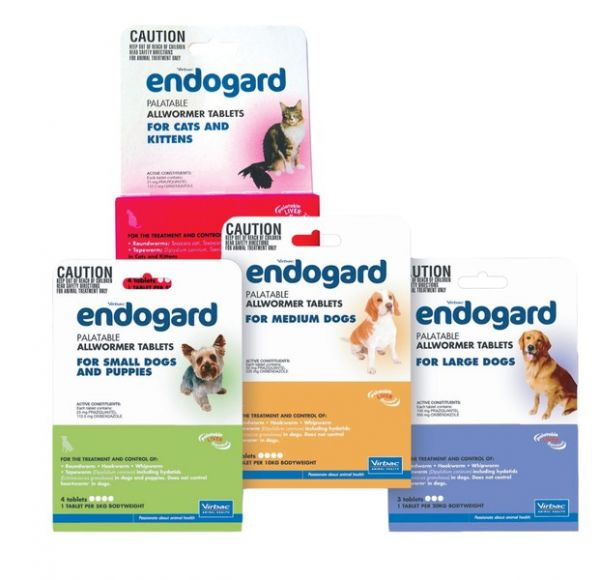 Endogard for large dogs 20kg (sold per tablet)