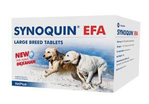 Synoquin EFA Tasty Tablets Large dog pack of 30