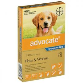 ADVOCATE X/Large Dogs >25kg 3-Pack
