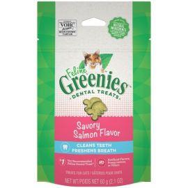 Greenies Feline Chews - Savoury Salmon 60g size