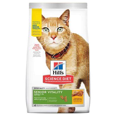 Hills Cat Adult 7+ Senior Vitality 2.72kg