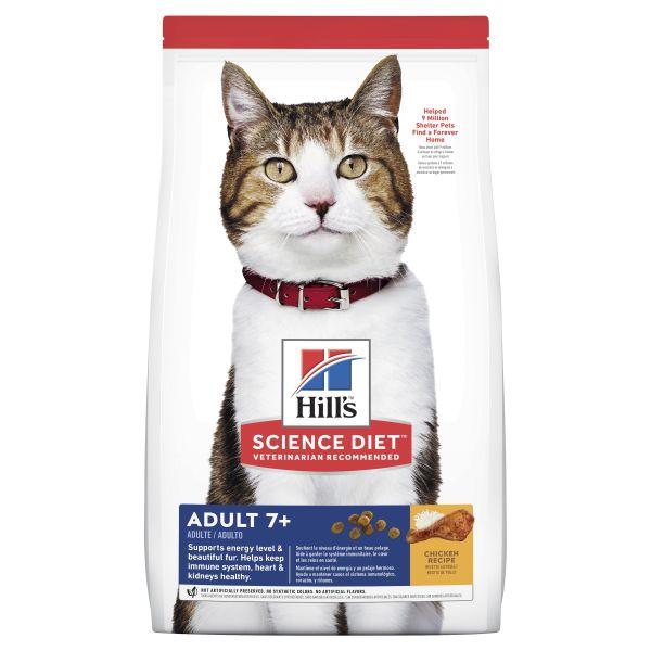 Hills Cat Adult 7+ 6kg