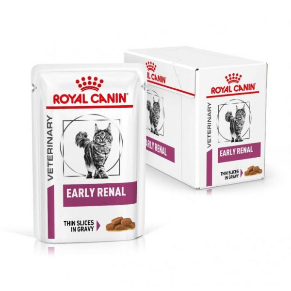 Royal Canin Senior Consult Stage 2 Cat Pouch 100g x 12 (NEW NAME Early Renal)