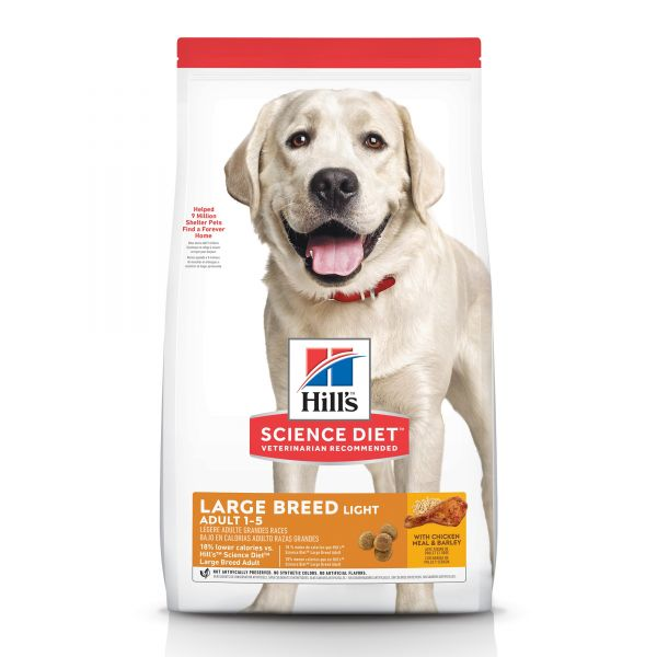 Hills Dog Adult Large Breed Light 1-5 years 12kg