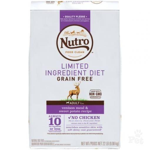 Nutro Dog Grain Free Venison 9.98kg