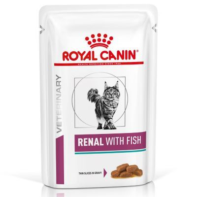 Royal Canin Renal Fish Cat Pouch 85g x 12
