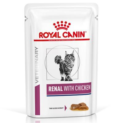 Royal Canin Renal Chicken Cat Pouch 85g x 12