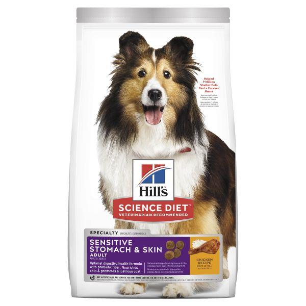 Hills Dog Adult Sensitive Stomach and Skin 12kg