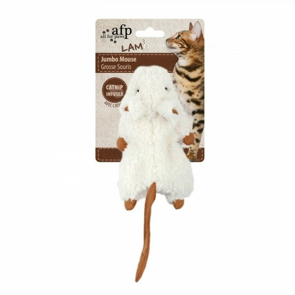Cat Toy - Crinkle Catnip Mouse