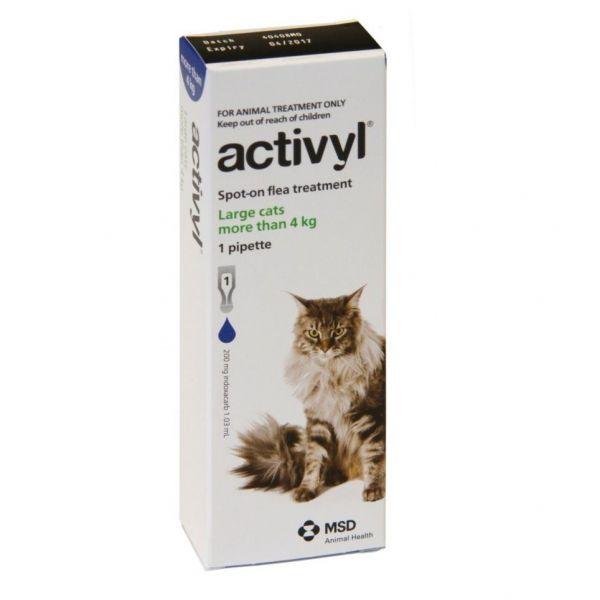 Activyl Cat Large 4kg+ single