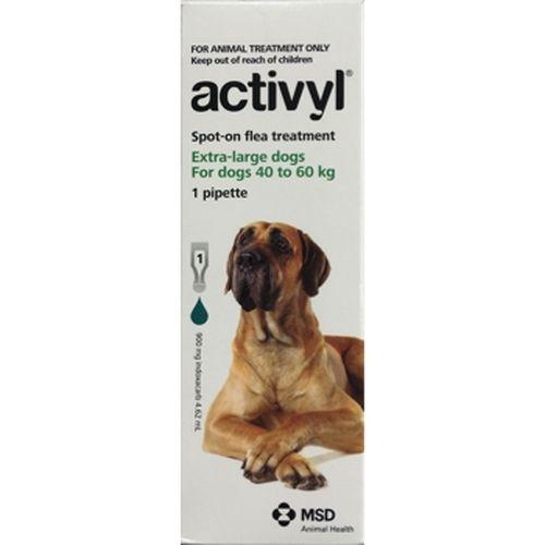 Activyl X-Large Dog 40-60kg single