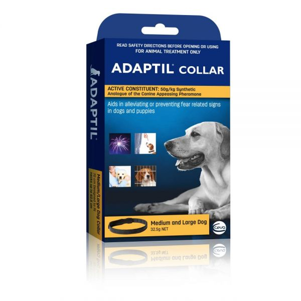 Adaptil collar for  med/large dogs  ( 62.5 cm neck size)