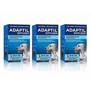 Adaptil Dog Appeasing Pheromone  Refill 48ml x 3