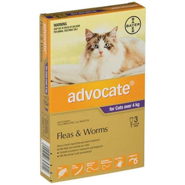 ADVOCATE Cat  Large >4kg 3-Pack