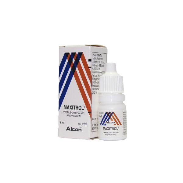 Maxitrol 5ml Eye drops (Prescription Required)