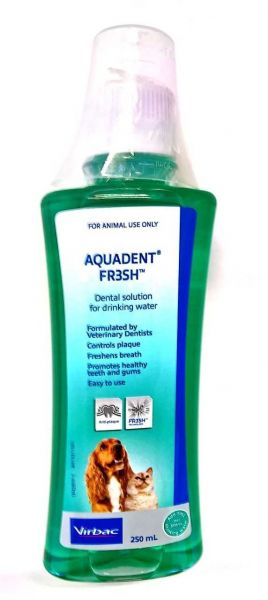 Aquadent water additive for cats and dogs 250ml