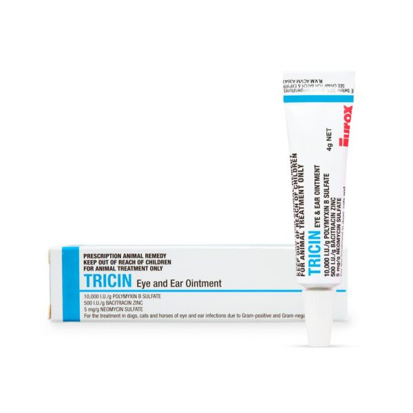 Tricin Eye and Ear Ointment 4g (Prescription Required)