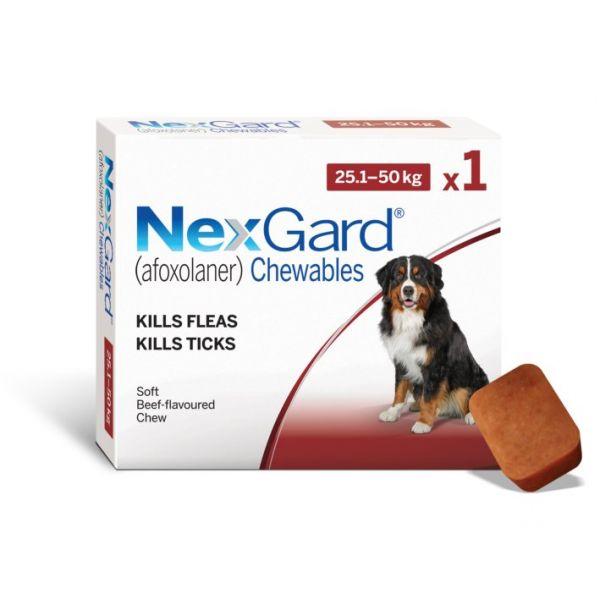 Nexgard for  Large Dogs   25-50kg SINGLE