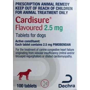 Cardisure 2.5mg Pack of 100   Prescription Required