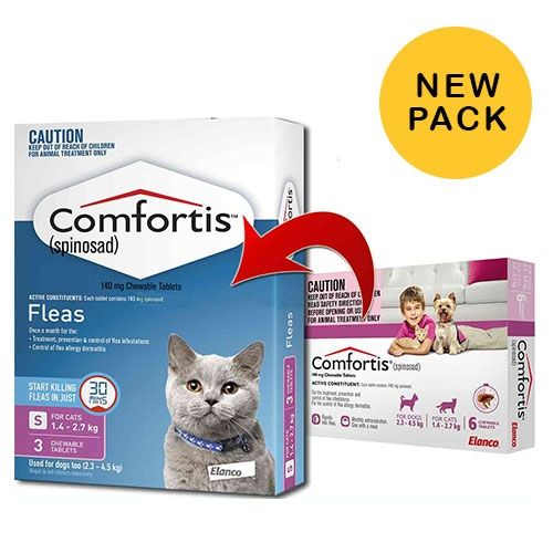Comfortis for Cats 1.4 - 2.7kg  3  pack