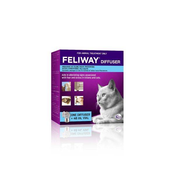 Feliway Diffuser for Cats (with 48ml vial)