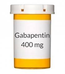 Gabapentin 400mg  SOLD PER CAPSULE  Presription Required