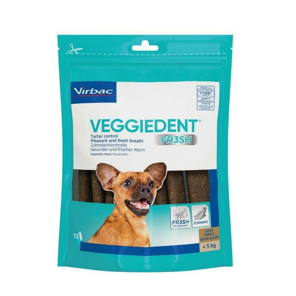 VeggieDent Tartar Control Dog Chews Very Small Dog