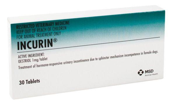 Incurin 1mg (box of 30)