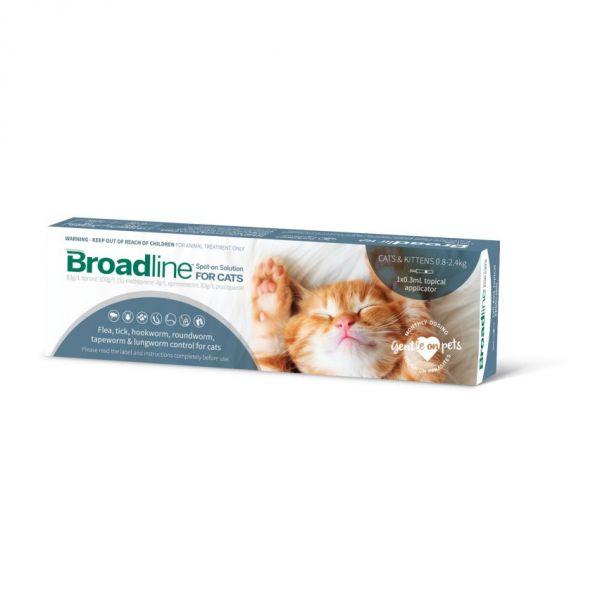 Broadline Flea & Worm SMALL cat