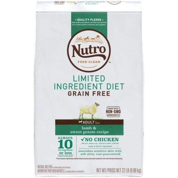 Nutro Dog Grain Free Lamb 9.98kg