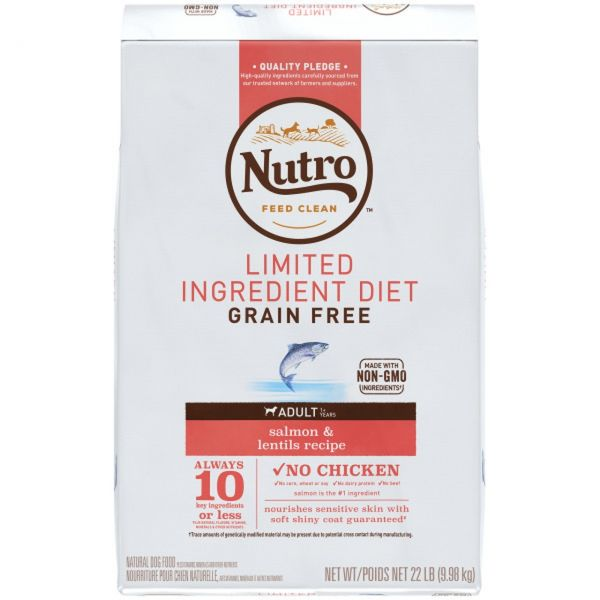 Nutro Dog Grain Free Salmon 9.98kg