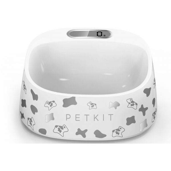 PetKit  Smart Bowl for cat / small dog White with cow pattern
