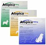 Atopica Capsules 4 sizes from