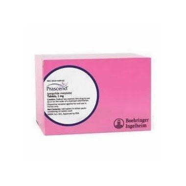 Prascend  1mg x 60  (Prescription Required)