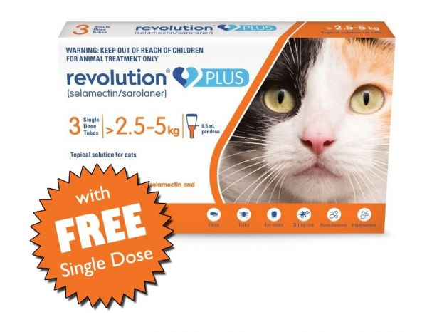 Revolution Plus with Extra Single Tube Free
