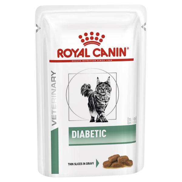 Royal Canin feline Diabetic Pouch (85g X 12)