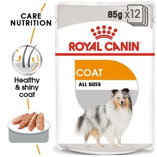Royal Canin  Royal Canin Coat Care Loaf x 12 sachets