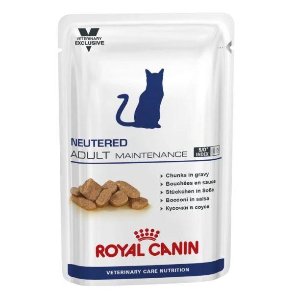 Royal Canin Neutered Adult Maintenance Cat Pouch 100g x 12