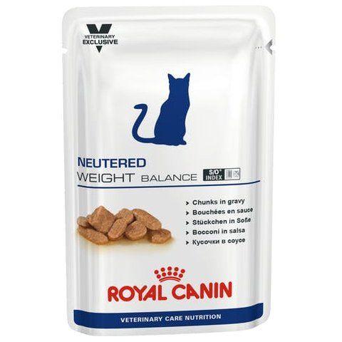 Royal Canin Neutered Weight Balance Cat Pouch 100g x 12