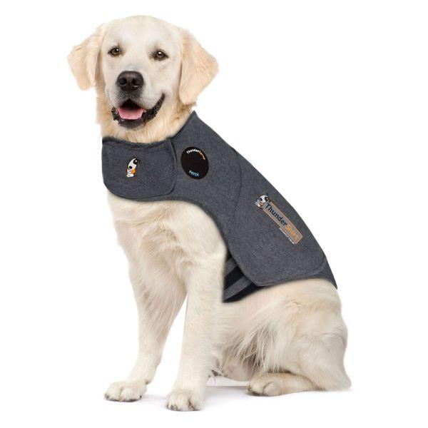 Thundershirt Dog Calming Polo Grey: Large