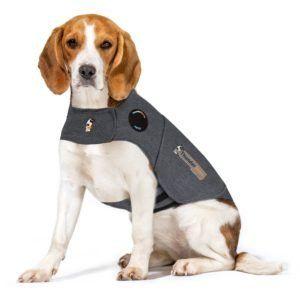 Thundershirt Dog Calming Polo Grey: Medium