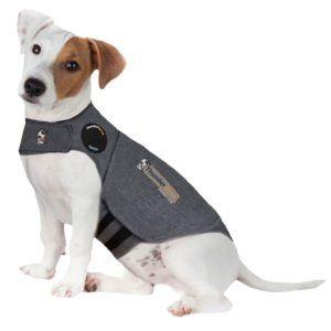 Thundershirt Dog Calming Polo Grey: Small