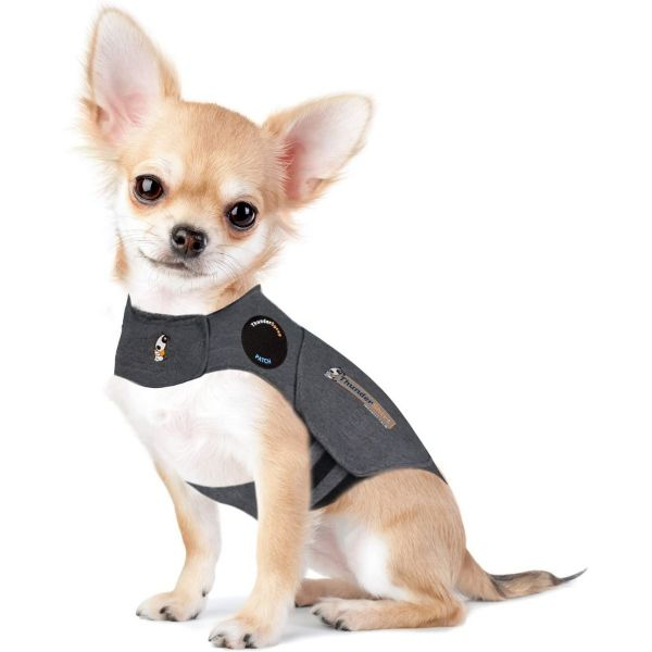 Thundershirt Dog Calming Polo Grey: Extra Small